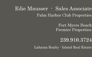 Palm Harbor Club property contact
